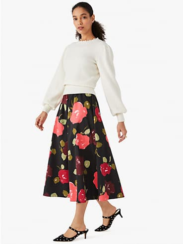 just rosy faille skirt, , rr_productgrid