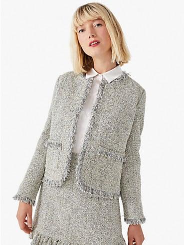 metallic tweed jacket, , rr_productgrid
