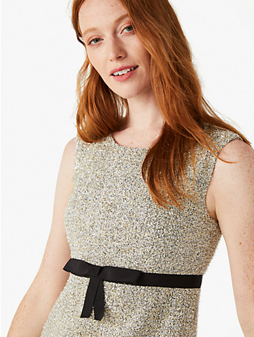 metallic tweed dress, , rr_productgrid