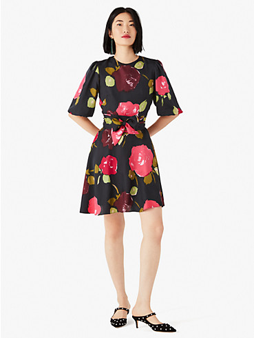 just rosy tie-waist dress, , rr_productgrid