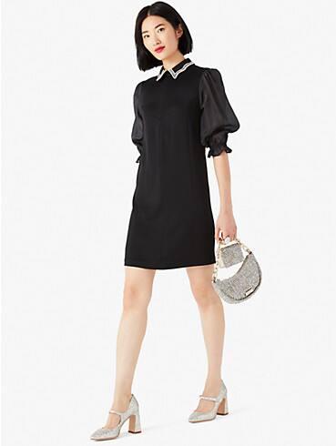 embellished collar shirtdress, , rr_productgrid
