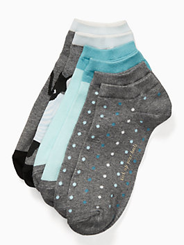 antoine sock set, MULTI GREY HEATHER, medium