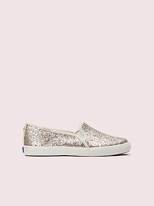 keds kids x kate spade new york double decker youth sneakers by kate spade new york non-hover view
