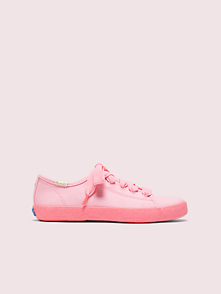 keds kids x kate spade new york kickstart youth sneakers by kate spade new york non-hover view