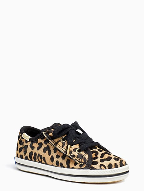 keds kids x kate spade new york champion leopard toddler sneakers, leopard, large by kate spade new york