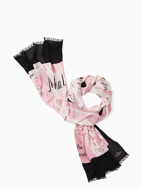 manhattan map oblong scarf by kate spade new york