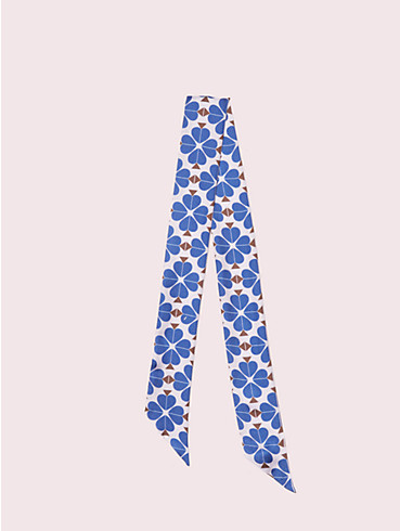 spade flower skinny scarf, , rr_productgrid