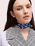 spade flower skinny scarf, , s7productThumbnail