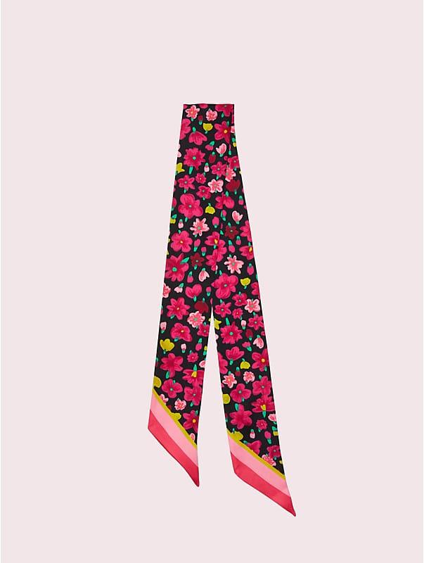marker floral skinny scarf, , rr_large