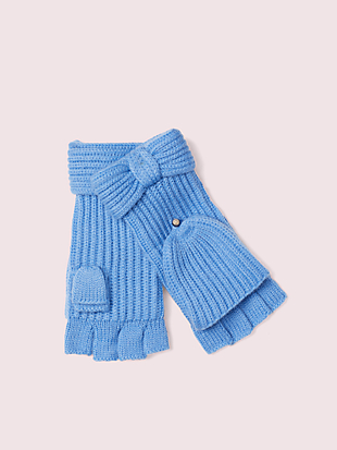 bow pop top gloves by kate spade new york non-hover view