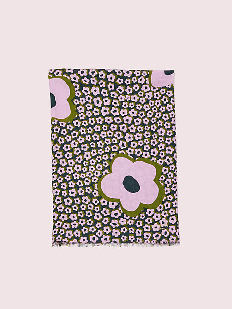flair flora oblong scarf by kate spade new york