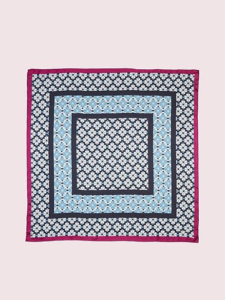 spade flower silk scarf by kate spade new york