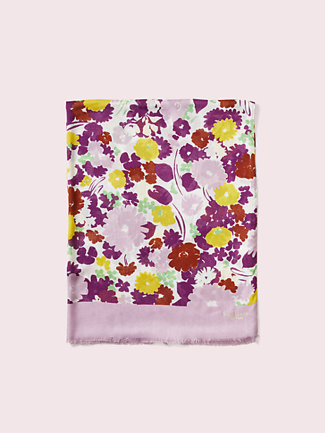 swing flora oblong scarf by kate spade new york