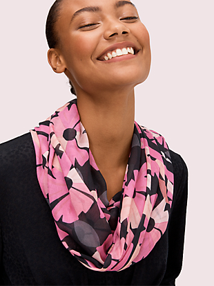 floral oblong scarf by kate spade new york non-hover view
