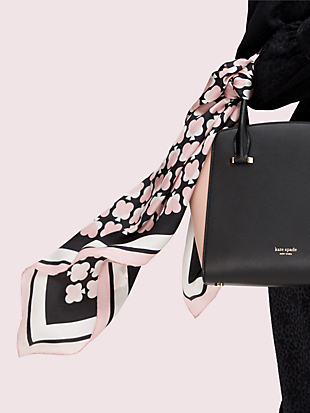 unlock your heart silk scarf by kate spade new york non-hover view