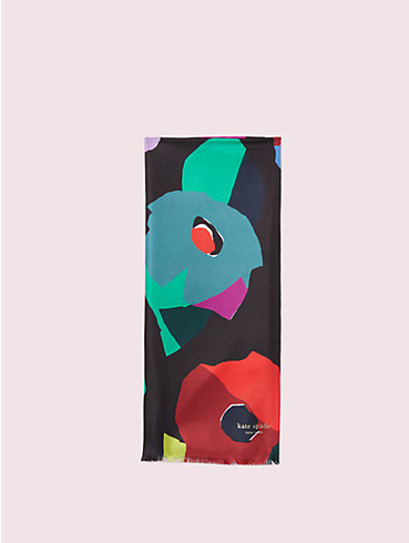 floral collage oblong scarf, , rr_productgrid
