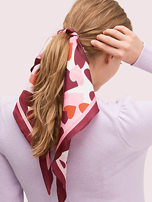 party hearts diamond scarf by kate spade new york non-hover view