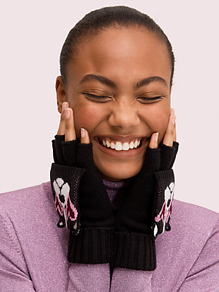 francois pop top mittens by kate spade new york hover view