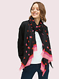 lips oblong scarf, , s7productThumbnail