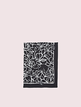 scribble flora oblong scarf by kate spade new york hover view