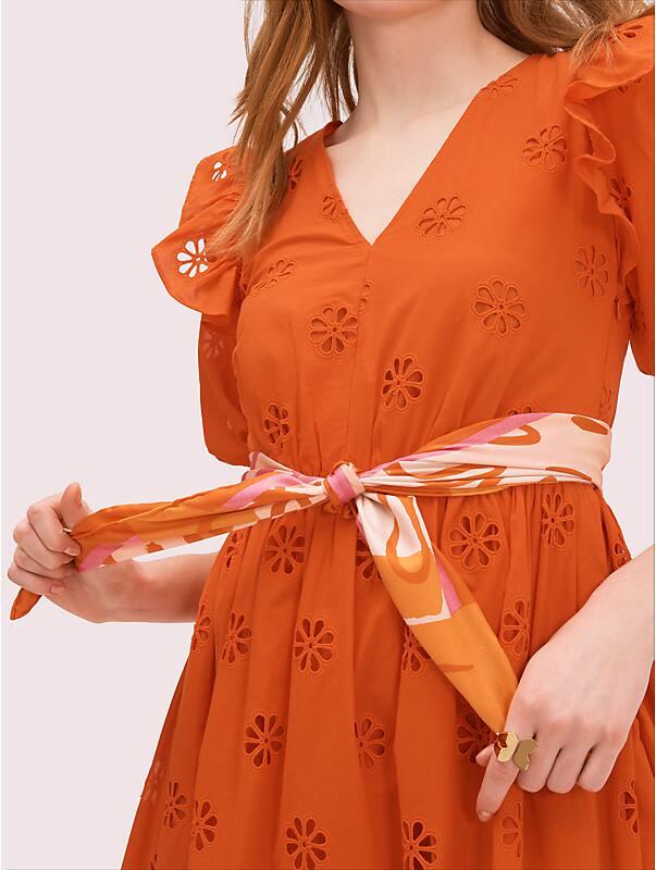 giraffe silk square scarf, , rr_large