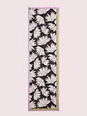 falling flower oblong scarf , , s7productThumbnail