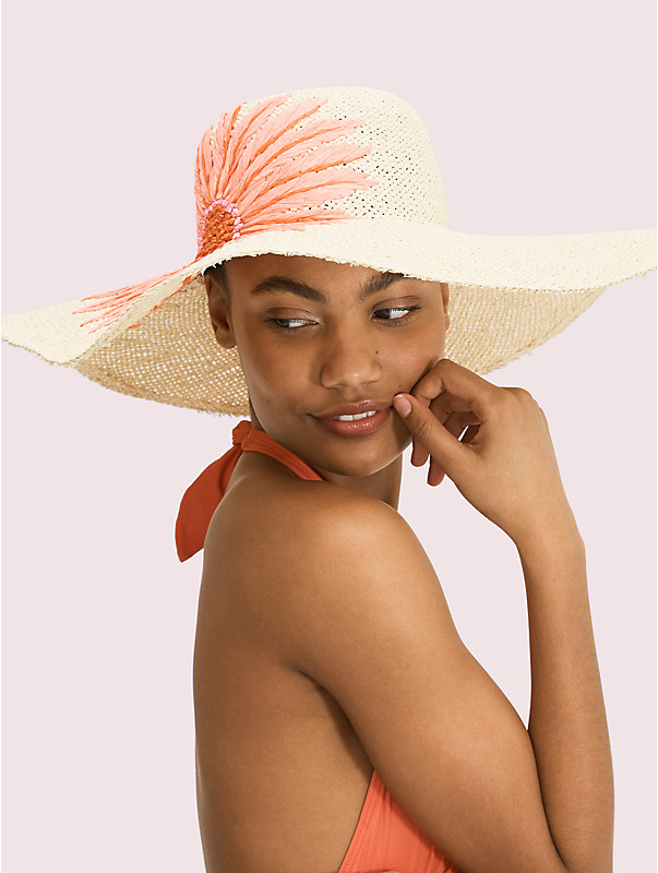 embroidered daisy sunhat, , rr_large