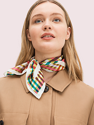 leslie plaid bandana by kate spade new york non-hover view