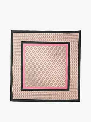 spade flower square scarf by kate spade new york hover view
