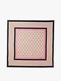spade stripe square scarf, , s7productThumbnail
