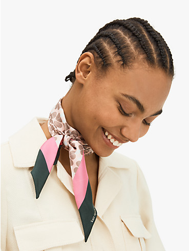 spade stripe skinny scarf, , rr_productgrid