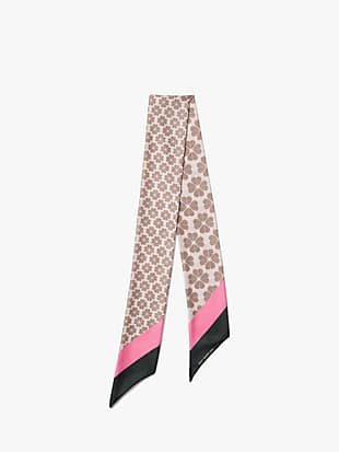 spade flower skinny scarf by kate spade new york hover view