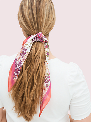 pacific petals hair tie and bandana set by kate spade new york non-hover view