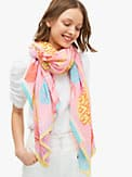 pineapple spade oblong scarf, , s7productThumbnail