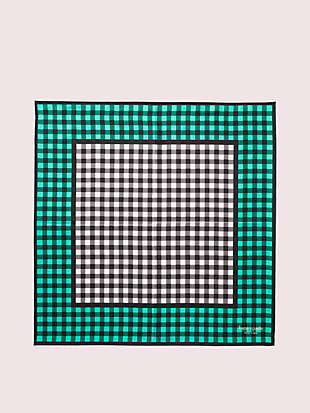 garden gingham bandana by kate spade new york hover view
