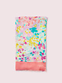 painted petals oblong scarf, , s7productThumbnail
