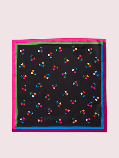 cherry toss silk bandana by kate spade new york