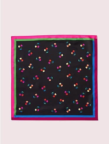 cherry toss silk bandana, , rr_productgrid