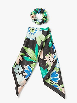 full bloom hair tie & bandana set by kate spade new york hover view