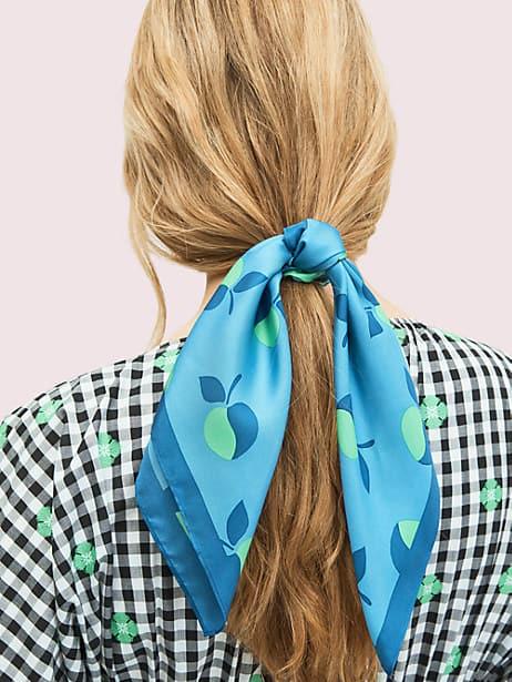 colorblock apple hair tie by kate spade new york