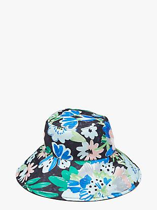 full bloom reversible bucket hat by kate spade new york hover view