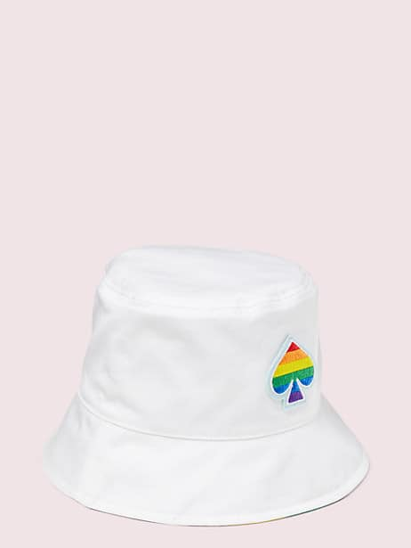 rainbow reversible bucket hat by kate spade new york