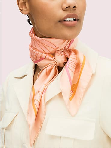 falling flower square scarf, , rr_productgrid