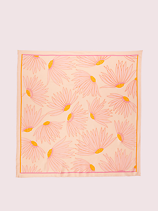 falling flower square scarf by kate spade new york hover view
