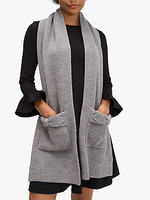 pointy bow scarf by kate spade new york non-hover view