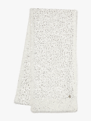 sequin scarf by kate spade new york hover view
