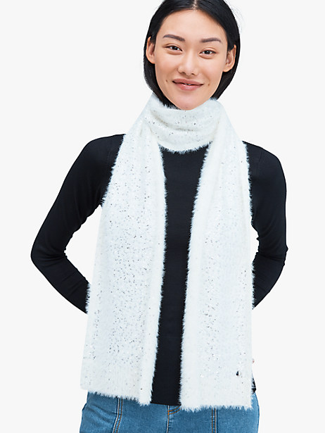 sequin scarf by kate spade new york