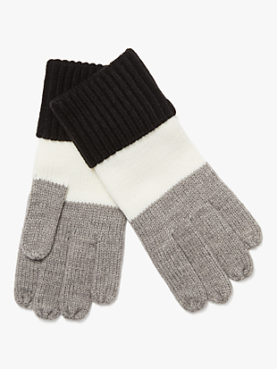 colorblock gloves by kate spade new york non-hover view