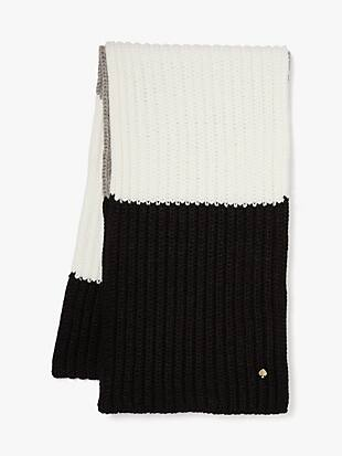 colorblock scarf by kate spade new york non-hover view