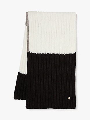 colorblock scarf by kate spade new york hover view
